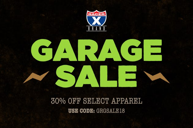 UPDATE | GARAGE SALE 30% OFF SELECT APPAREL